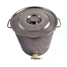 Канта инокс за мед 35 литра